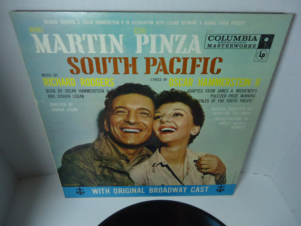 Mary Martin, Ezio Pinza, Richard Rodgers / Oscar Hammerstein 2nd ‎– South Pacific With Original Broadway Cast
