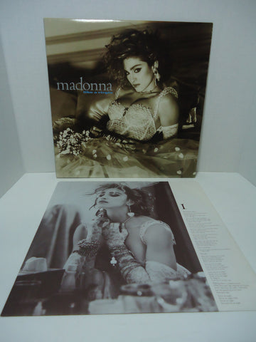 Madonna - Like A Virgin [1984 Sire Records]