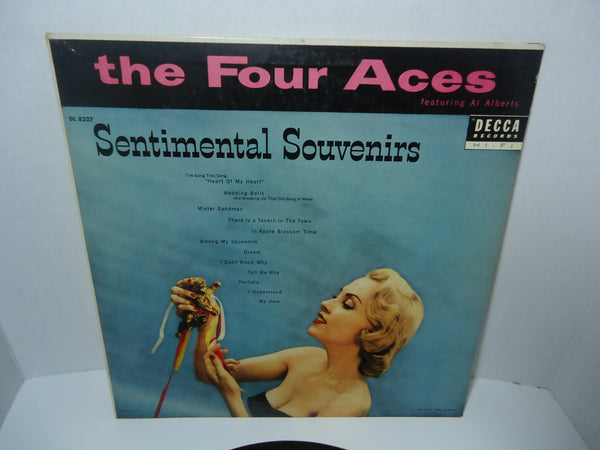 The Four Aces Featuring Al Alberts ‎– Sentimental Souvenirs [Mono]
