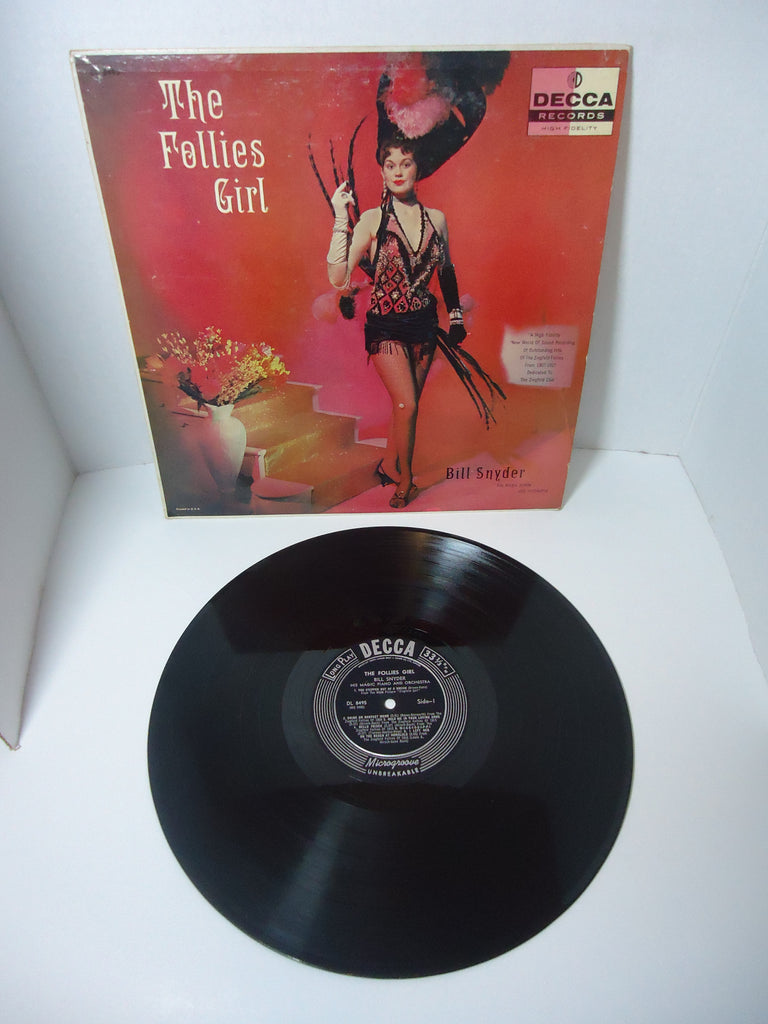 Bill Snyder And His Orchestra ‎– The Follies Girl LP Canada