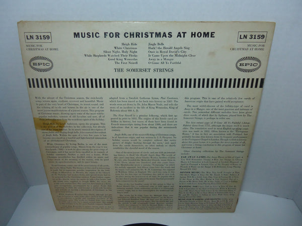 Somerset Strings - Music For Christmas At Home