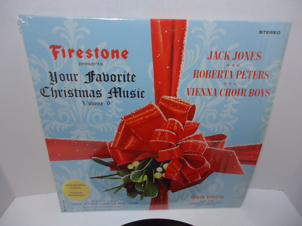 Firestone Presents Your Favorite Christmas Music Volume 6 -  Irwin Kostal Conducting The Firestone Orchestra And Chorus