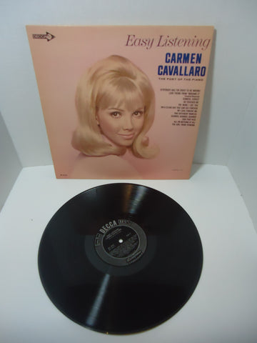 Carmen Cavallaro ‎– Easy Listening LP