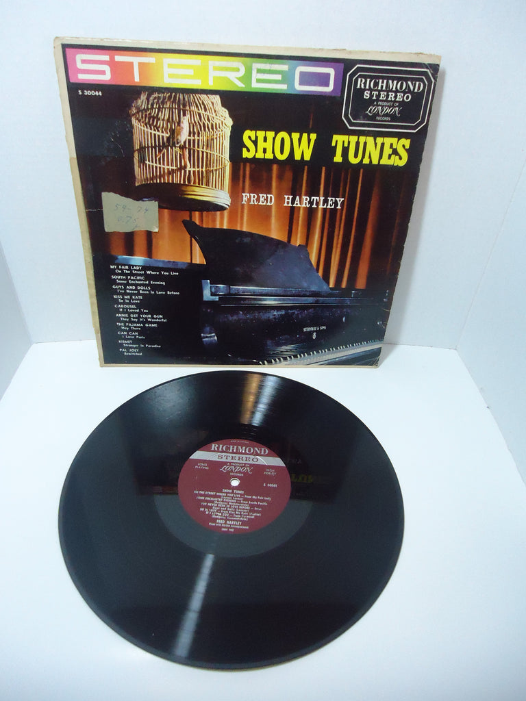 Fred Hartley ‎– Show Tunes LP