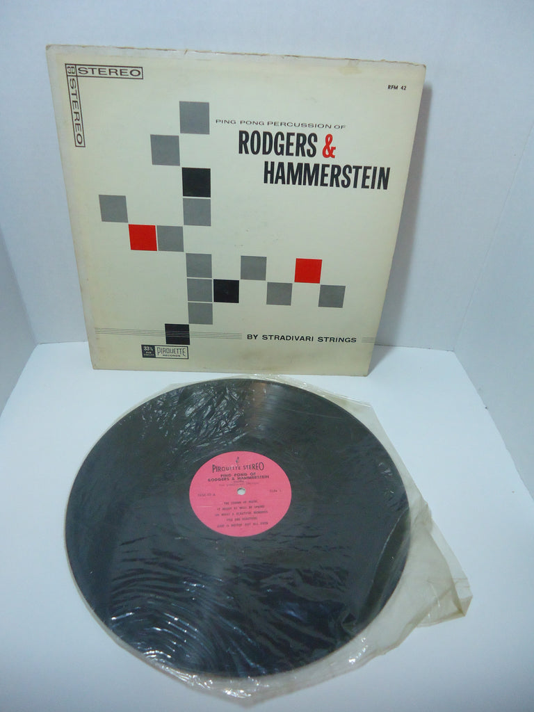 Rodgers & Hammerstein By Stradivari Strings ‎– Ping Pong Percussion LP