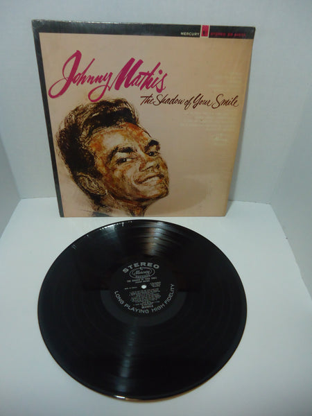 Johnny Mathis ‎– The Shadow Of Your Smile [Black Label] LP Canada