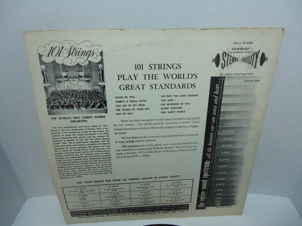 101 Strings ‎– Play The World's Great Standards