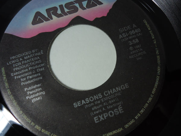 Expose - Seasons Change / December