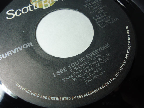 Survivor - I See You In Everyone / I Can't Hold You Back