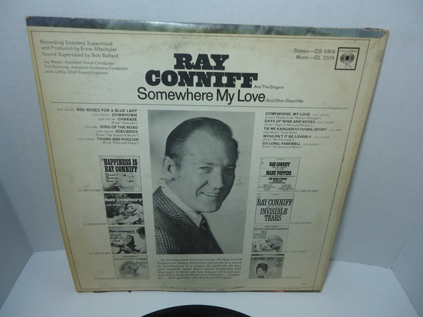Ray Conniff And The Singers ‎– Somewhere My Love