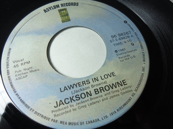 Jackson Browne - Lawyers In Love / Say It Isn't True