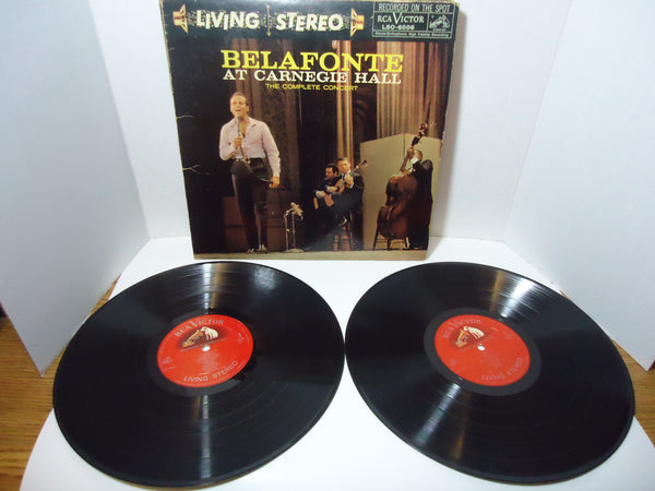 Harry Belafonte ‎– At Carnegie Hall: The Complete Concert LP