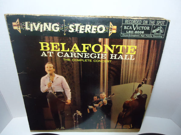 Harry Belafonte ‎– At Carnegie Hall: The Complete Concert [Double LP] [Gatefold]
