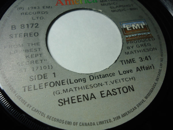 Sheena Easton - Telefone / Wish You Were Here Tonight