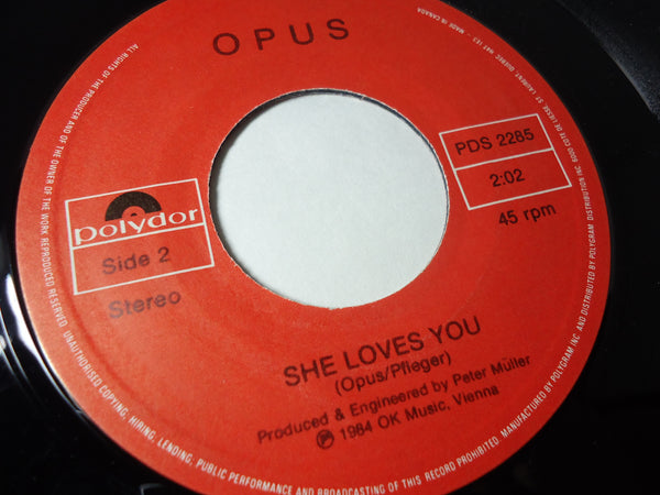 Opus - She Loves You / Live is Life