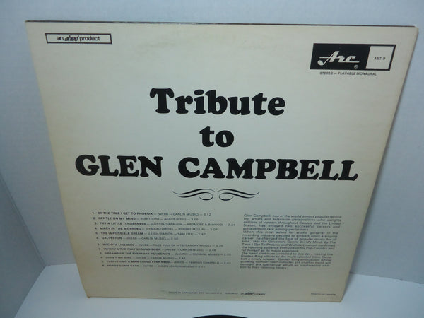 The Golden Ring ‎– Tribute To Glen Campbell