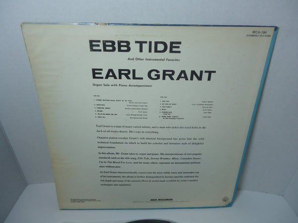 Earl Grant ‎– Ebb Tide And Other Instrumental Favorites [Reissue]
