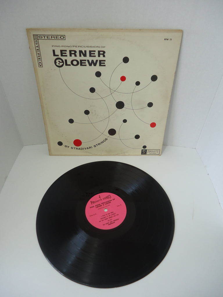 Stradivari Strings ‎– Ping Pong Percussion Of Lerner & Loewe LP