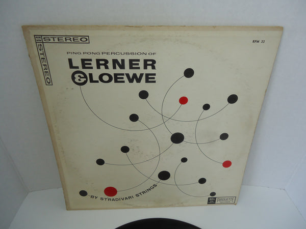 Stradivari Strings ‎– Ping Pong Percussion Of Lerner & Loewe
