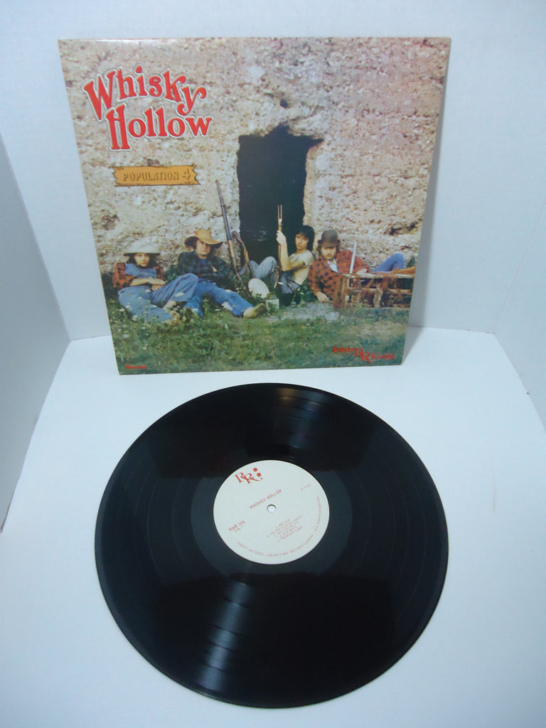 Whisky Hollow ‎– Population 4 LP