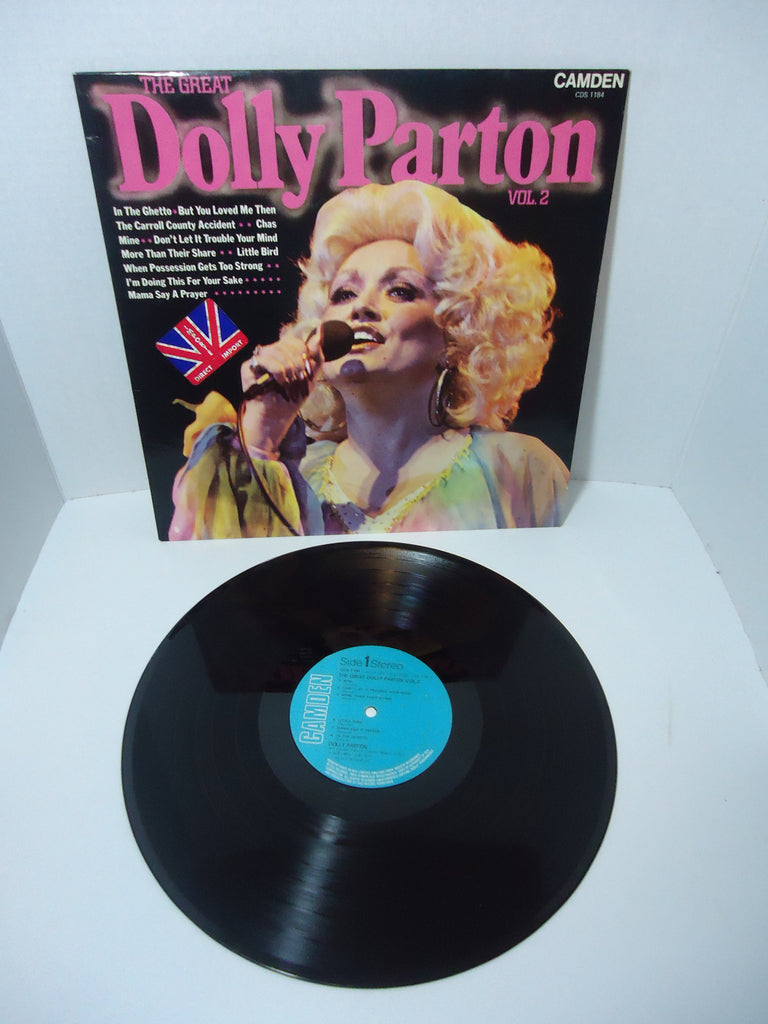 Dolly Parton ‎– The Great Dolly Parton Vol. 2 LP