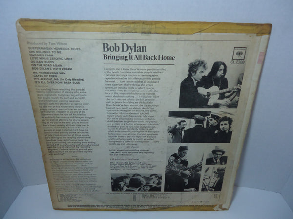 Bob Dylan ‎– Bringing It All Back Home [Mono]