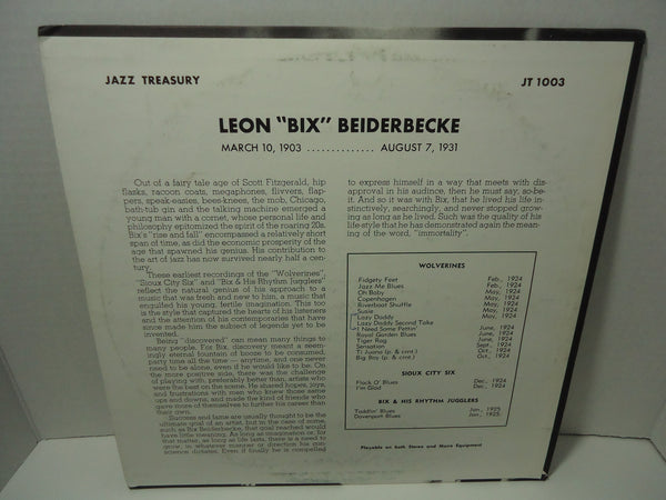 Bix Beiderbecke & The Wolverines - S/T  [Mono]