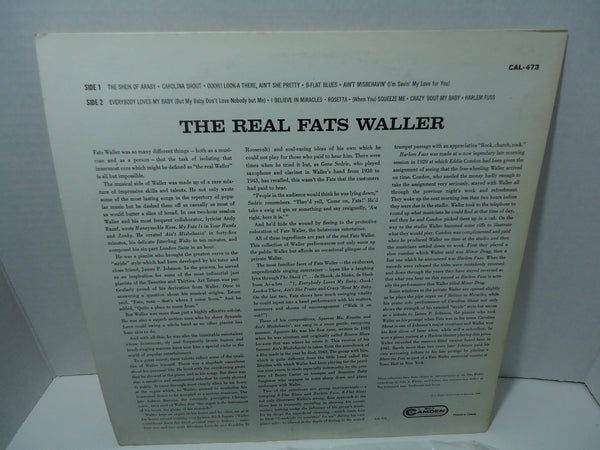 The Real Fats Waller [Mono]