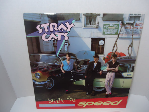 Stray Cats ‎– Built For Speed [Club Edition]