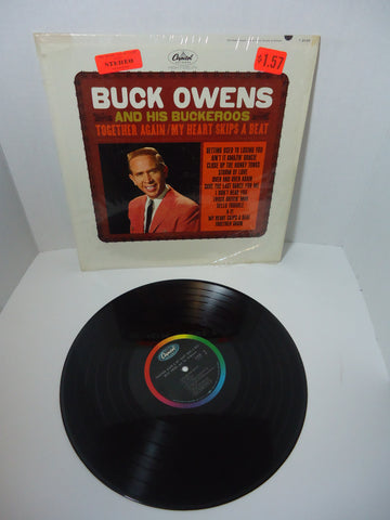 Buck Owens And His Buckaroos ‎– Together Again / My Heart Skips A Beat [Mono] LP