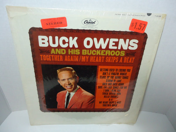 Buck Owens And His Buckaroos ‎– Together Again / My Heart Skips A Beat [Mono]