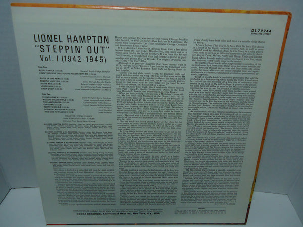Lionel Hampton & His Orchestra - Steppin' Out Vol. 1 1942-1945