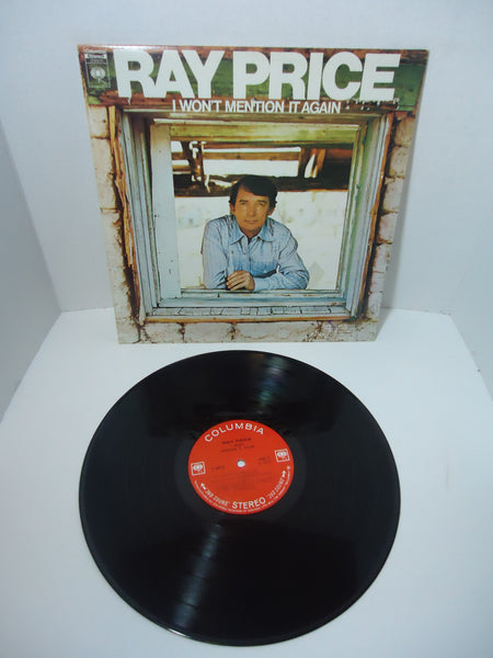 Ray Price ‎– I Won't Mention It Again LP