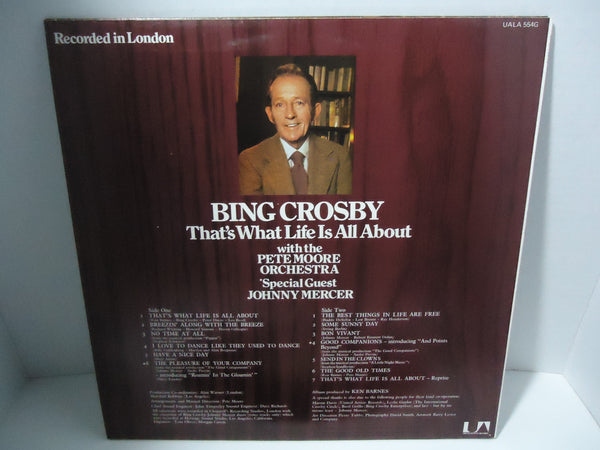 Bing Crosby - That's What Life Is All About [Live Recording]