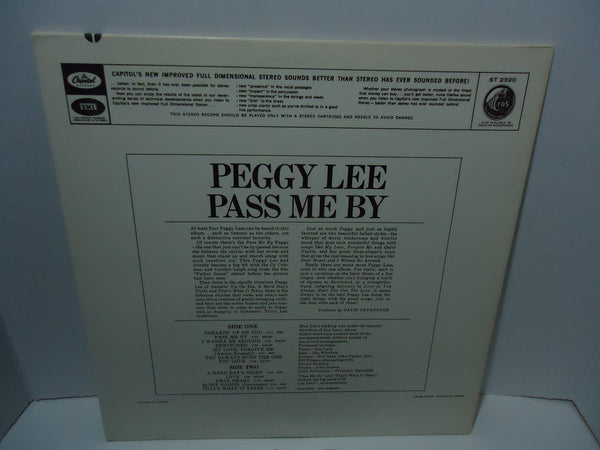 Peggy Lee - Pass Me By