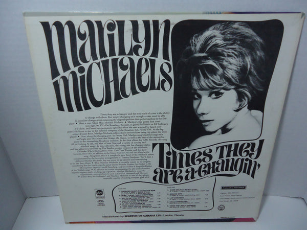 Marilyn Michaels - Times They Are A Changin' [Mono]