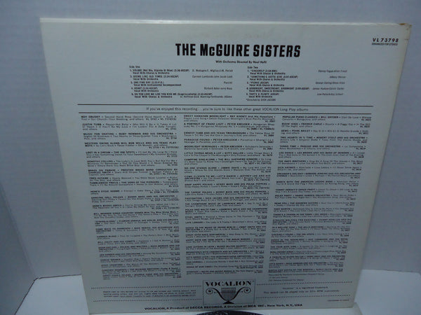 The McGuire Sisters - S/T