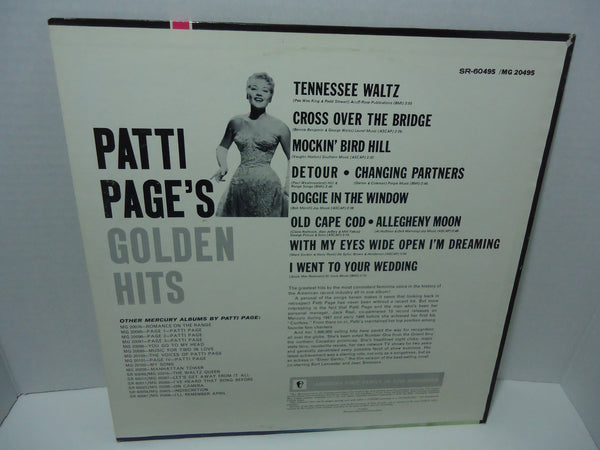 Patti Page's Golden Hits [Club Edition, Reissue]