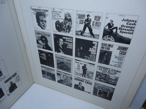 Johnny Cash ‎– The World Of Johnny Cash [Double LP] [Gatefold]