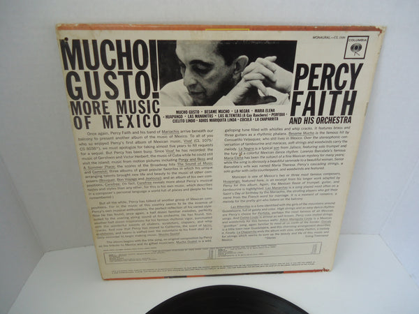 Percy Faith And His Orchestra ‎– Mucho Gusto! More Music Of Mexico [Mono]