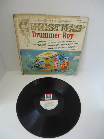 Don Janse And His 60 Voice Children's Chorus ‎– The Christmas Drummer Boy LP