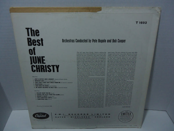 June Christy - The Best Of  [Mono]