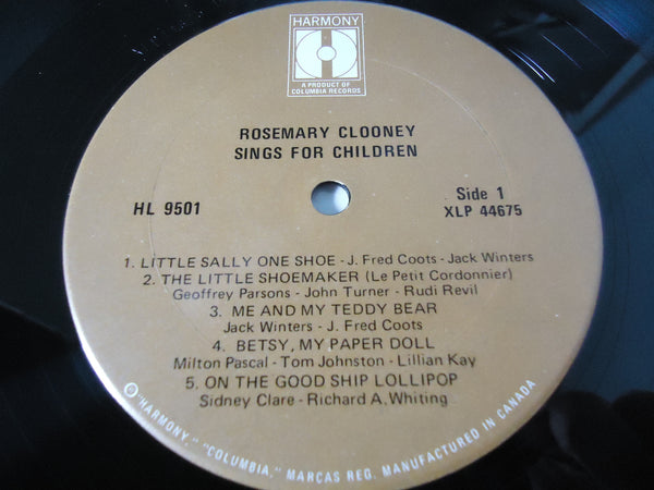 Rosemary Clooney  - Sings For Children