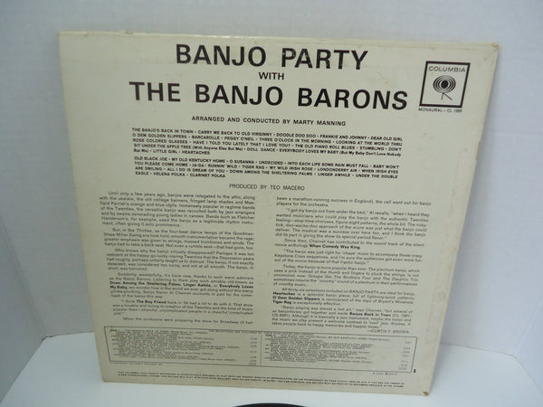 The Banjo Barons ‎– Banjo Party With The Banjo Barons