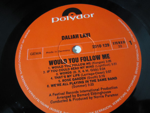 Daliah Lavi - Would You Follow Me [Import]