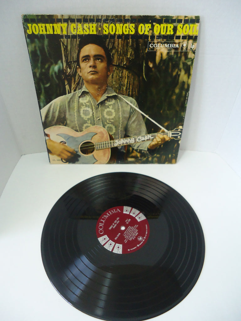 Johnny Cash ‎– Songs Of Our Soil LP Canada