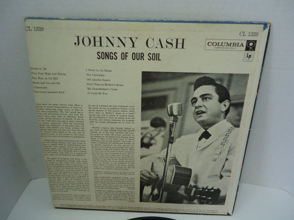 Johnny Cash ‎– Songs Of Our Soil