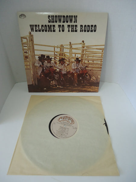 Showdown ‎– Welcome To The Rodeo LP Canada