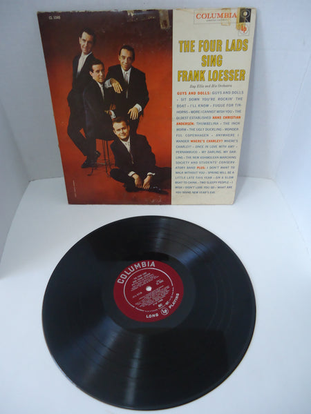 The Four Lads, Ray Ellis And His Orchestra ‎– The Four Lads Sing Frank Loesser LP