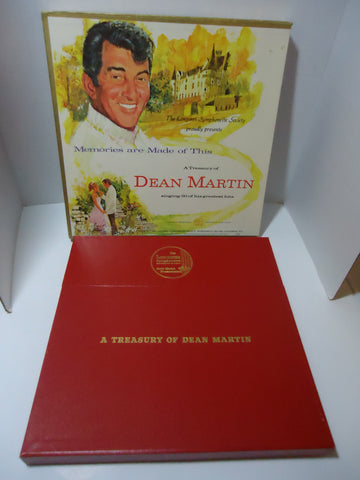 Dean Martin ‎– Memories Are Made Of This: A Treasury Of Dean Martin [5 LP Box Set] Vinyl LPs